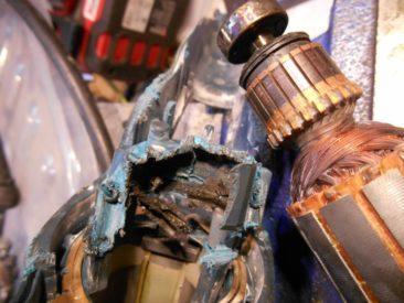 Bosch rozprute gniazdo łożyska
