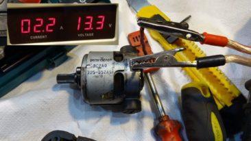Bosch uszkodzony silnik zakrętarki